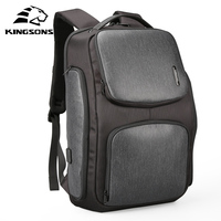 Kingsons Upgraded Backpack Solar Fast USB Kanpsack 15.6 Inch Laptop Backpacks Men Women Cool Travel Bag Mochila