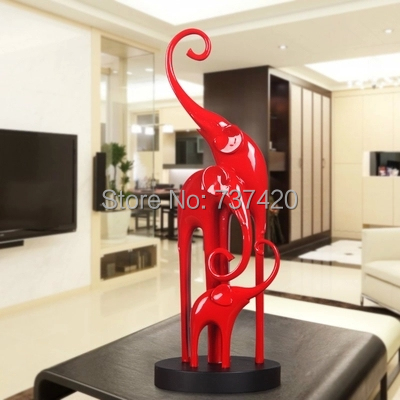 Modern Living Room Ornaments compare prices on elephant modern sculpture- online shopping/buy