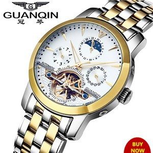 Luxury-Brand-GUANQIN-Skeleton-Watches-Men-Full-steel-Waterproof-Automatic-Self-Wind-Watch-Men-s-Tourbillon