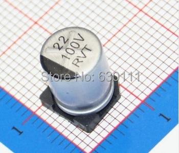 22 uF 100 V SMD aluminium-elektrolyt-kondensator 100 V22UF 8*10,5 MM