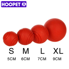 HOOPET Dog Toy Rubber Ball Bite-resistant