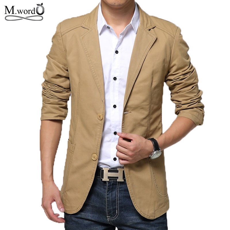 Online Get Cheap Mens Cotton Blazer Jacket -Aliexpress.com ...