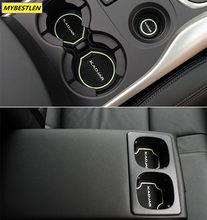 Étui pour Renault KADJAR en gel de silice, 14 pièces, accessoires pour intérieur de voiture, coussin de tasse, antidérapant, tapis de porte de voiture, GR-DM9