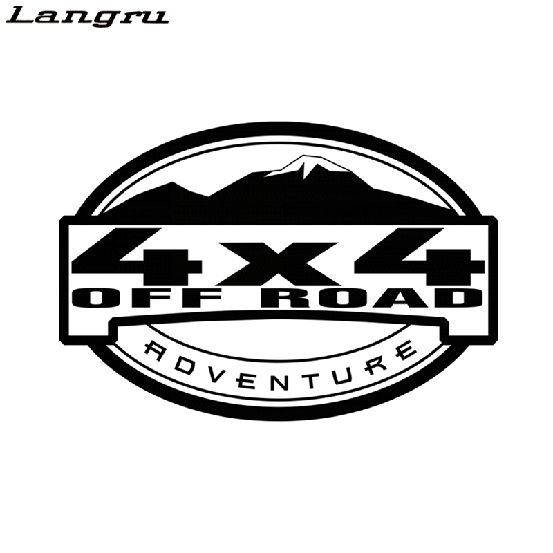 """FREE Same Day Shipping! /""""4X4 Inside/"""" Truck Window//Tailgate//Bumper Decal 4WD"""