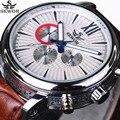 6 Mãos 24 Horas Auto Data Homens Relógios Automáticos Relógio mecânico SEWOR Top De Luxo Da Marca Militar Relógio de Pulso Relogio masculino