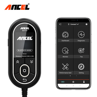 Ancel BD310 Bluetooth OBD2 Scanner 2 in 1 Digital Gauge On Board Computer for Car OBD 2 Diagnostic Tool for iPhone / Android