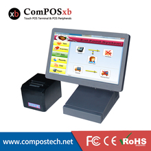 Direct Sale 15.6″ All In One Touch Screen Retail POS Terminal Point Of Sale Systems With Printer