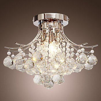 AC110V-220V LED Modern Kristal Avize Tavan Lambası Ile 3 Işıkları, Lustres De Cristal, Parlaklık De kristal Ücretsiz Kargo