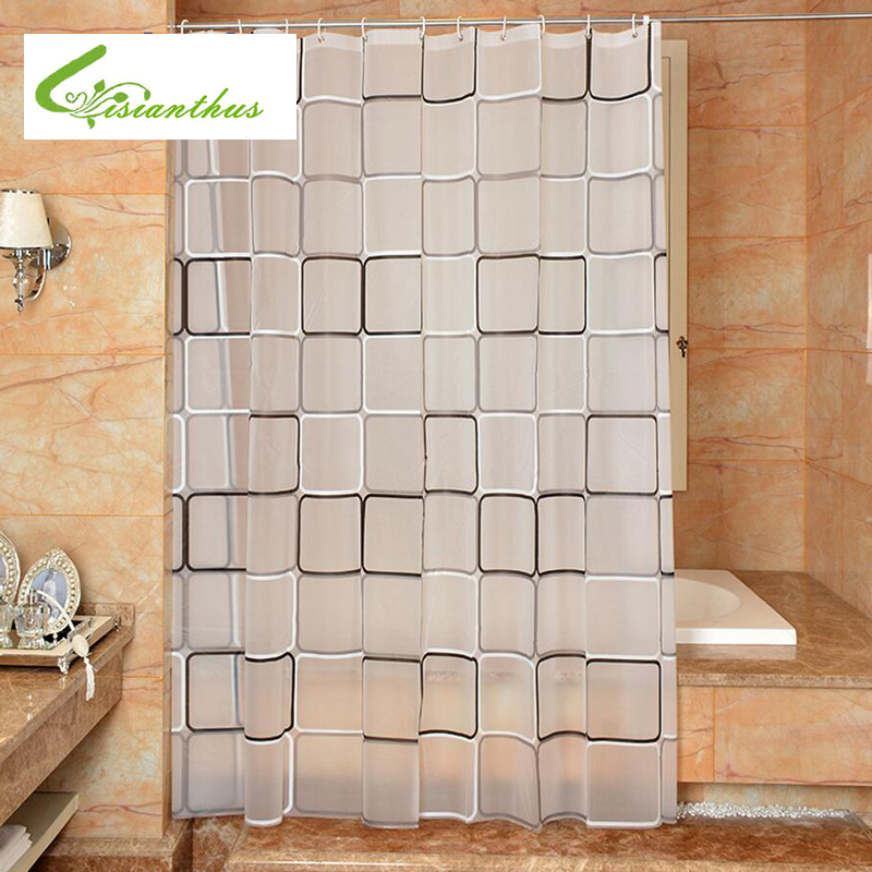 Neue Ankunft Transparent Pvc Badezimmer Dusche Vorhang Endlose ...