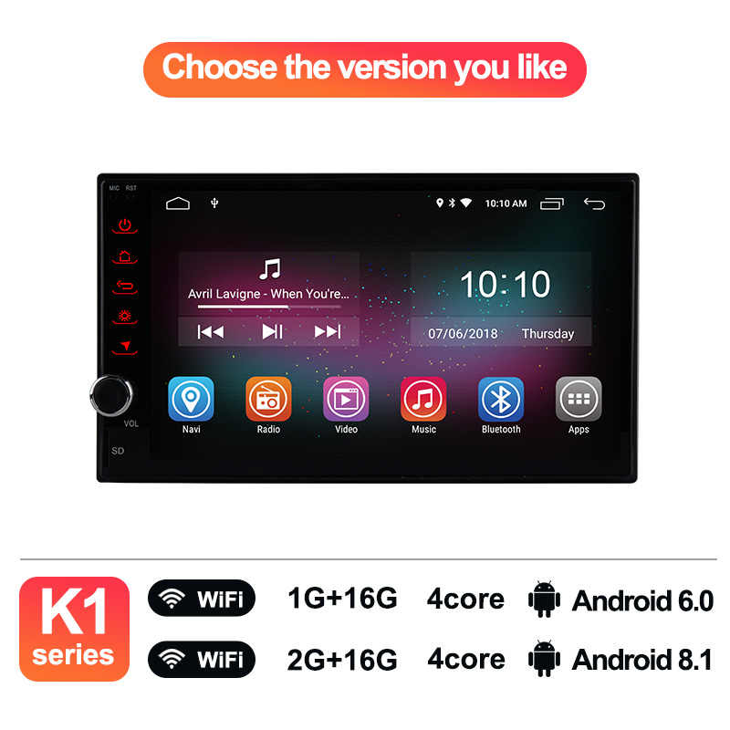 Ownice K1 Intelligent Car Tablet PC Android 8 1 Universal 2 Din Car Radio  GPS Navigation for Nissan Toyota VW Peugeot RAM 2G