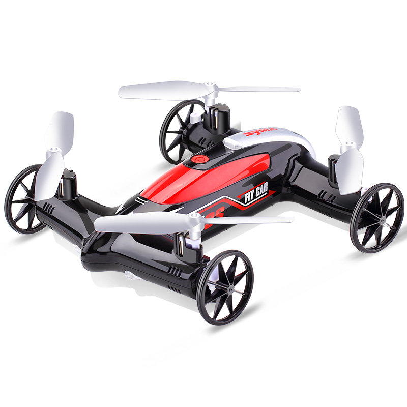 Syma aircraft model X9S Awsome chariot remote control aircraft four-axle aircraft land and air dual drone toy weili v252 genuine four aircraft with flashing lcd mini four rotor model airplane remote control toys