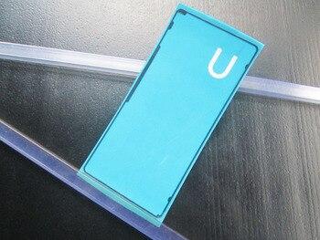 BLINGIRD nowa przylepna taśma naklejka dla Sony Xperia X wydajność XP F8131 F8132 tylna obudowa case bateria drzwi tylna pokrywa