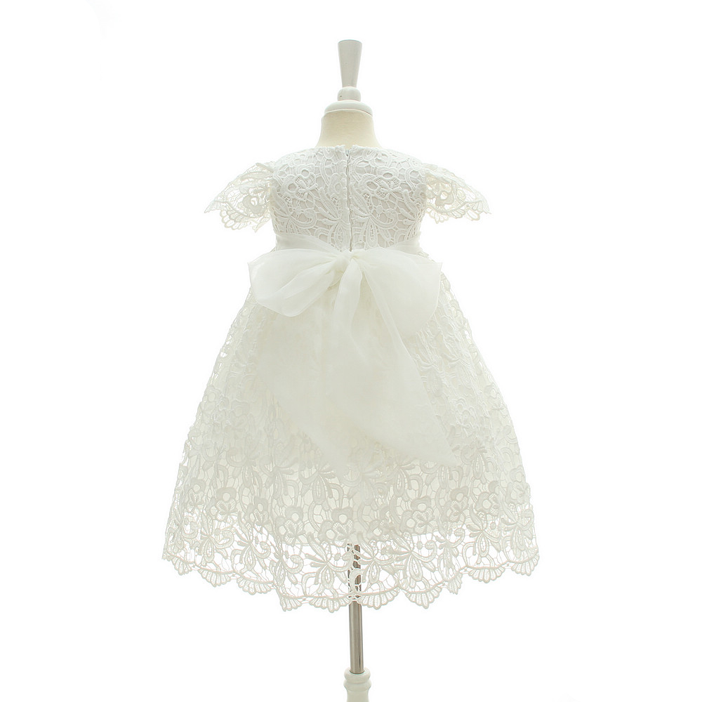 ce31d4fa5b597 IYEAL 2018 New 1 Year Birthday Baby Girl Dresses For Baptism Infant  Princess Lace Christening Gown Newborn Toddler Bebes Clothes