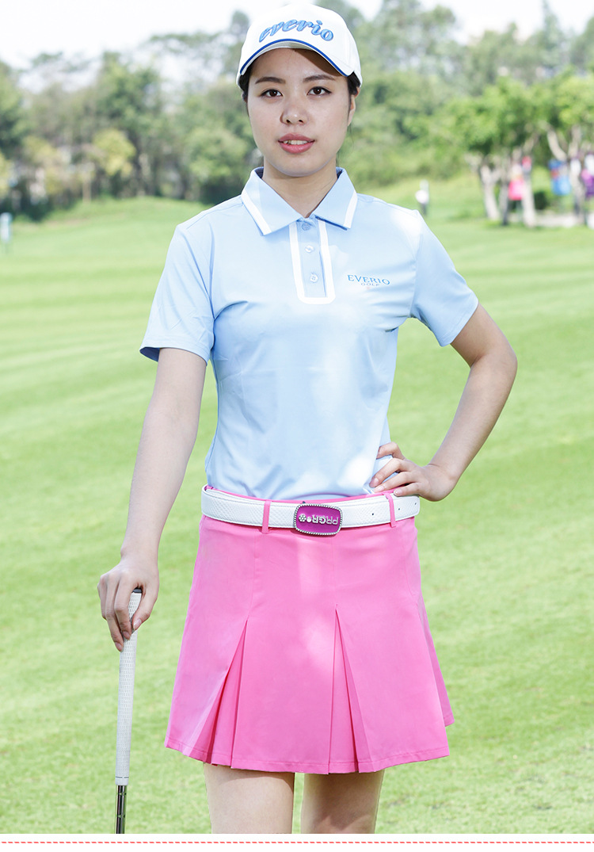 23e6ac132bf02a Everio womens golf sportswear ladies summer anti lining golf skirt jpg  750x1075 Cheap womens golf attire