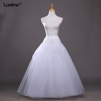 In Stock A Line Long 4 Layers Tulle Petticoats 2018 For Wedding Dress Crinoline Petticoat Underskirt