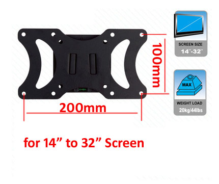 free shipping vesa mount stand 200x100 for 10