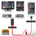 HDMI Mirroring Smart Cable HDTV AV Phone to TV Adapter для iPhone/iPad/Android