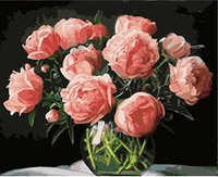 MaHuaf X699 New Arrival Unique Gift Digital Oil Painting On Canvas Painting By Numbers Decorative Picture