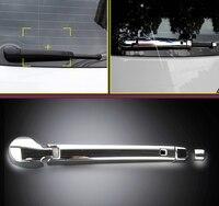 Car Styling Rear Window Windscreen Wiper Blade Cover Trim ABS Chrome 4pcs For VW Volkswagen Golf 7 Mk7 2013 2014 2015 2016 2018