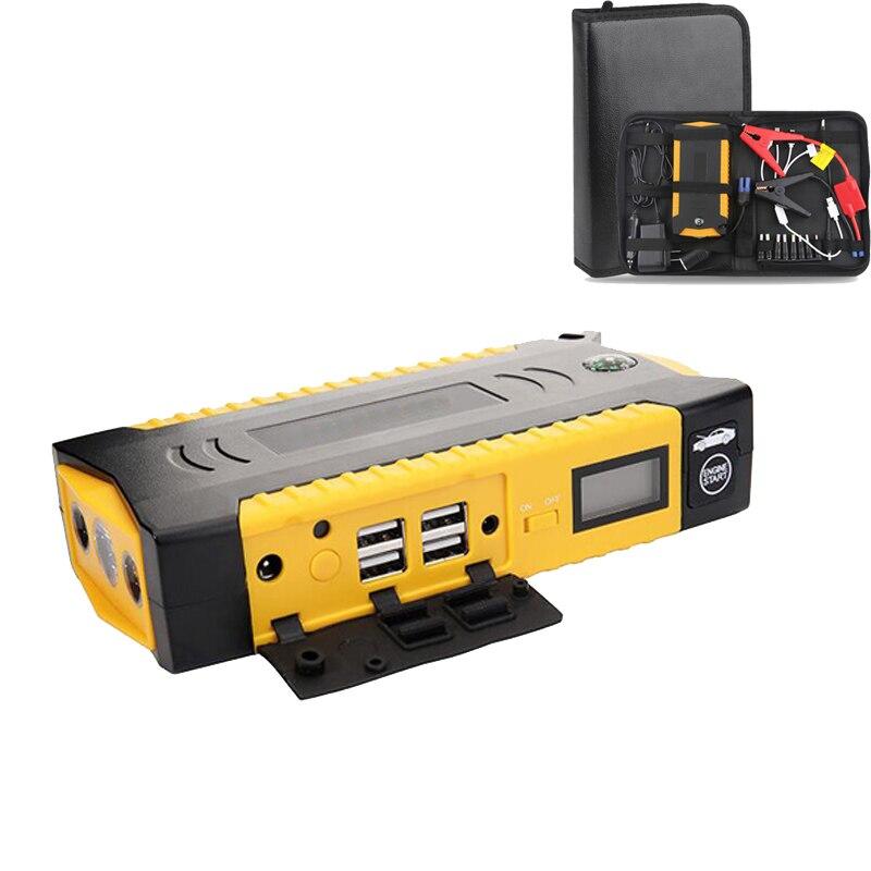 600A 82800 mAH voiture batterie Booster dispositif de démarrage batterie externe saut démarreur chargeur d'urgence 12 v Auto batterie Booster