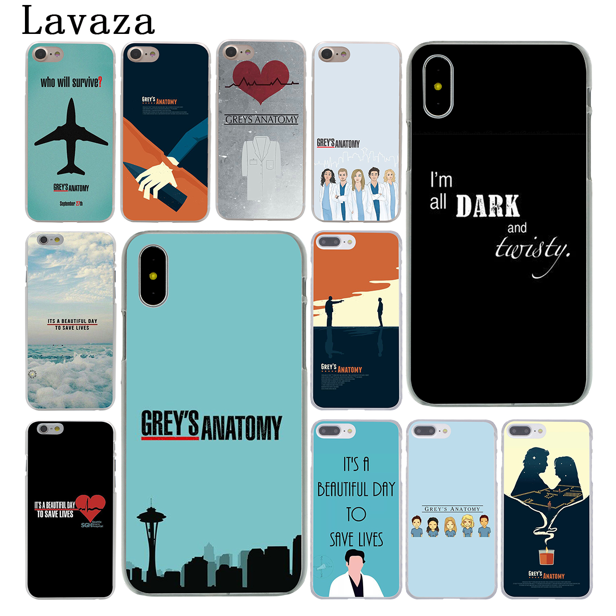 Lavaza grey is grey\'s anatomy Hard Phone Case for Apple iPhone X 10 ...