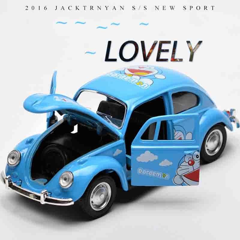 1:32 VW Beetle Classic Alloy Diecast Car Model Toy Cartoon Vehicle ...