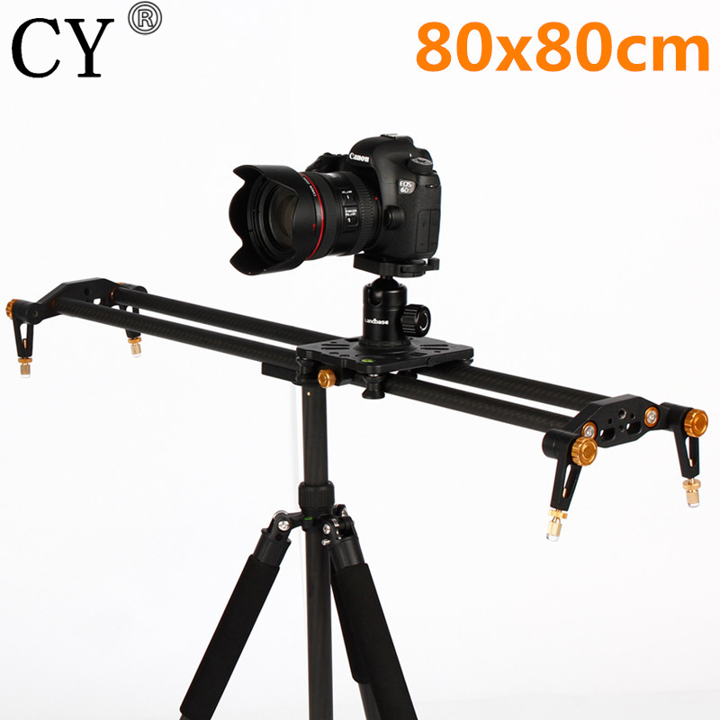 31.5/80cm Track Video Stabilizer Rail Track Slider Studio Camera Rail System Slider for DSLR Camera DV Photo Studio Accessories 60cm mini camera video slr stabilizer 3 axis silent damping slide portable compact track slider rail system