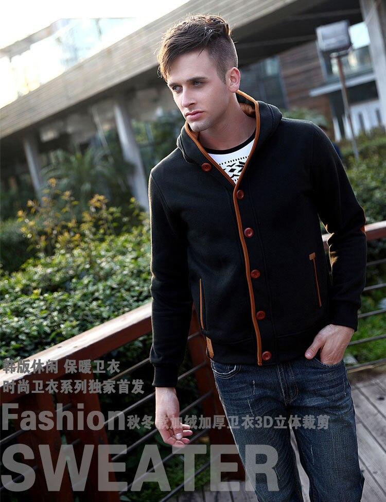 Mwxsd marca para hombre otoño sudaderas con capucha para hombres - Ropa de hombre - foto 5