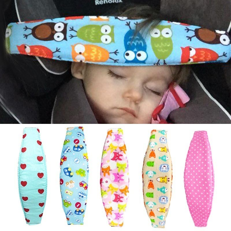 Infant Baby Car Seat Head Support Children Belt Fastening Belt Adjustable Playpens Sleep Positioner