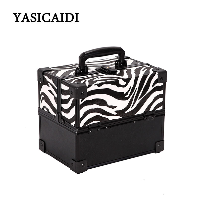 2018 Cute Cosmetic Bag Professional Makeup Bag Pvc Travel Organizer Case Beauty Necessary Make Up Storage Beautician Box new arrive hot 2pc set portable jewelry box make up organizer travel makeup cosmetic organizer container suitcase cosmetic case
