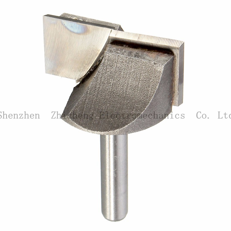 1/4 Inch Cnc Router Bottom Cleaning Woodworking Tools 6mm X 30mm Milling Cutter Bits New Arriva Making Things Convenient For The People