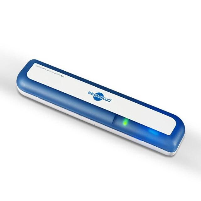 Battery Powered UV Sanitizer Toothbrush Cleaner Toothpaste Holder Sterilizer Device