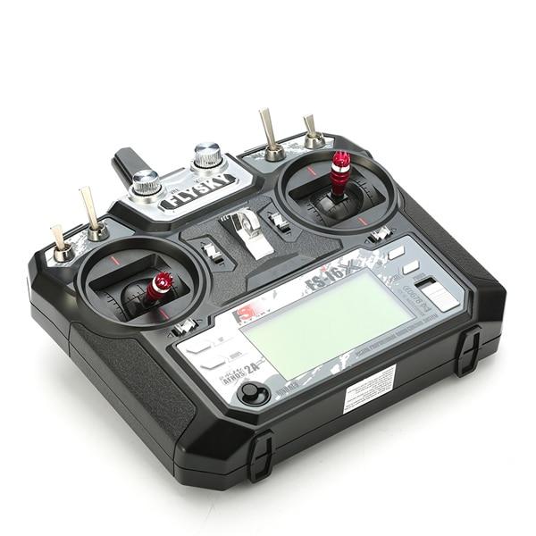 Flysky FS-i6X FS I6X + iA10B Receiver2.4G L'émetteur RC Télécommande i6 mise à niveau Pour RC multi-rotor drone