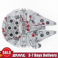 2018 IN STOCK Star LEPIN 05033 5265Pcs Ultimate Wars Collector S Millennium Falcon Model Building Blocks