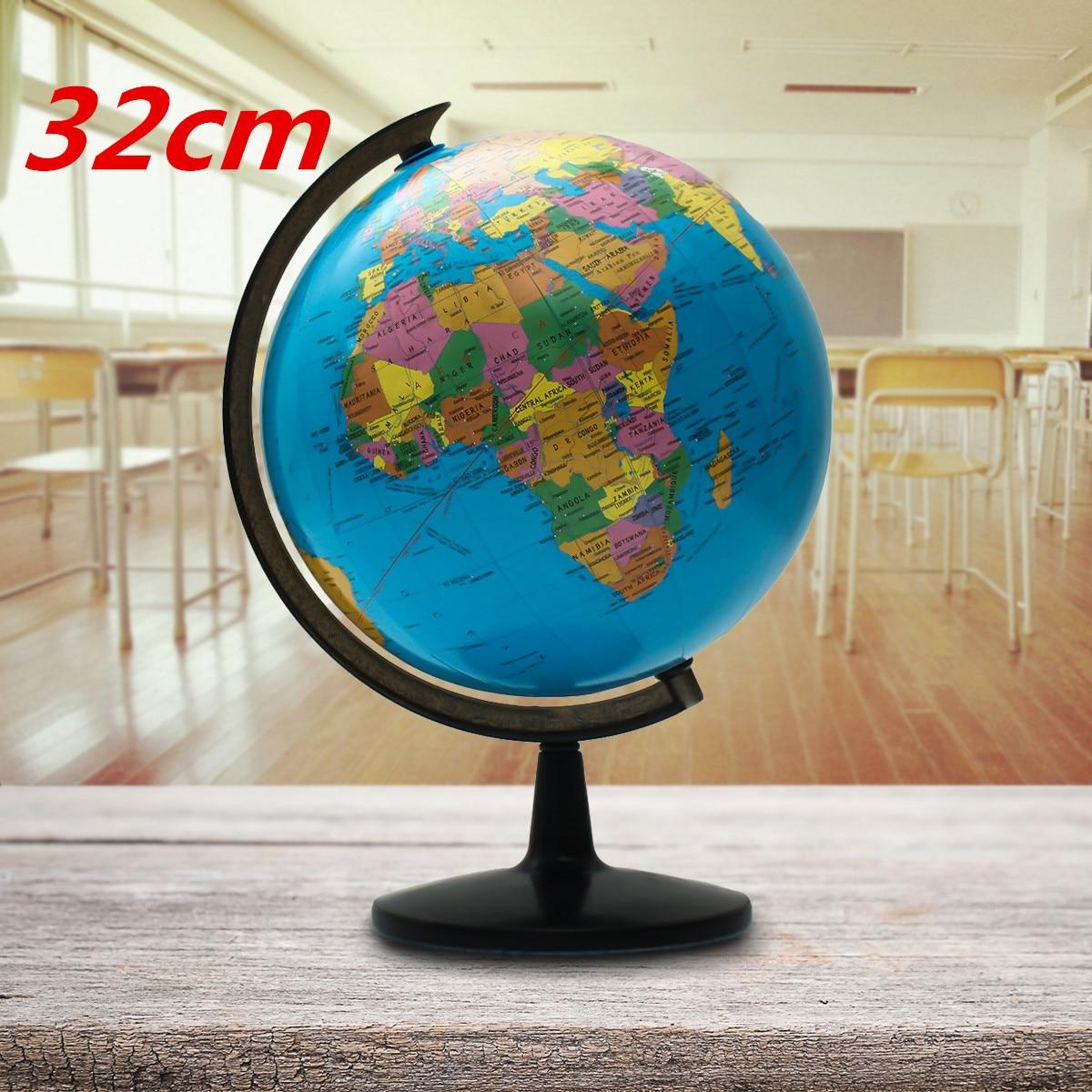 32 cm monde Globe carte enfants géograpie jouets éducatifs fournitures scolaires étudiants récompense cadeau maison bureau décorations de bureau - 4