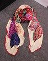 2014 cachecol marca Espanhola. marcas famosas de moda das mulheres inverno cachecóis & wraps xailes do Pashmina lenço de seda quadrado grande