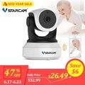 Cámara inteligente de audio Vstarcam C7824WIP Monitor de bebé wifi de 2 vías con cámara de seguridad IP de detección de movimiento cámara inalámbrica para bebé