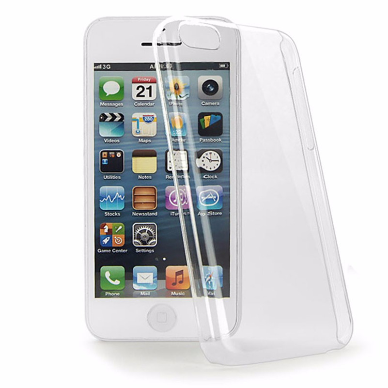 Original Hard Clear Back Phone Case For Iphone SE 5S 5 5C 6 6S Plus 7 7S 8 Plus 4S 4 Ipod Touch 6 5 Transprent Shell Back Cover