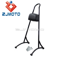For Harley Sportster XL 883 1200 2004 2017 20 Tall Passenger Sissy Bar Backrest For SuperLow Iron 883 Fourty Eight Roadster