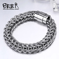 Beier 316L stainless steel bracelet  Man & women High polish chain bracelet Fashion Jewelry BR-C021