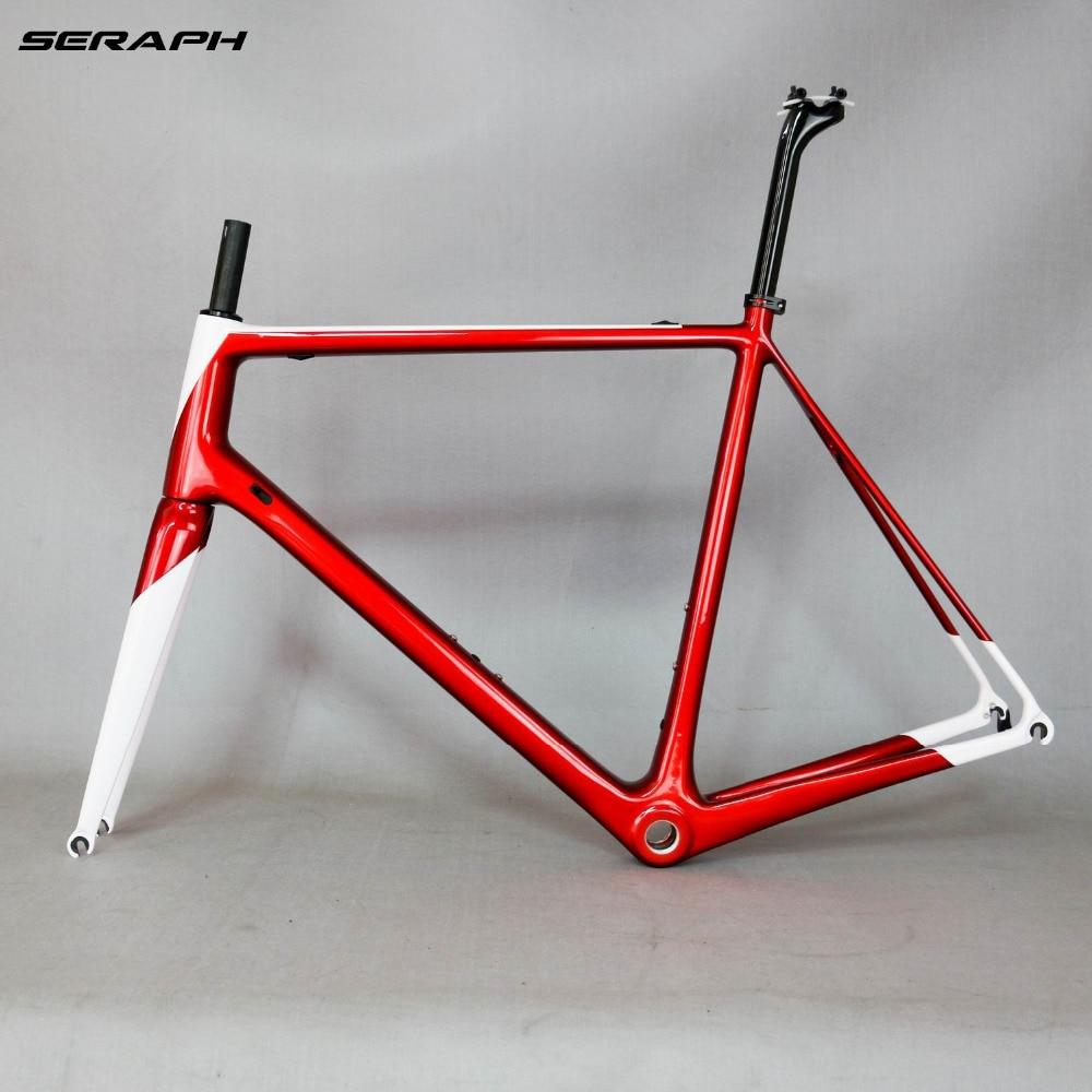 T1000 Carbon Frame Full Carbon Fiber Frame Accept Painting Carbon Bicycle Frame Complete Bike Frame