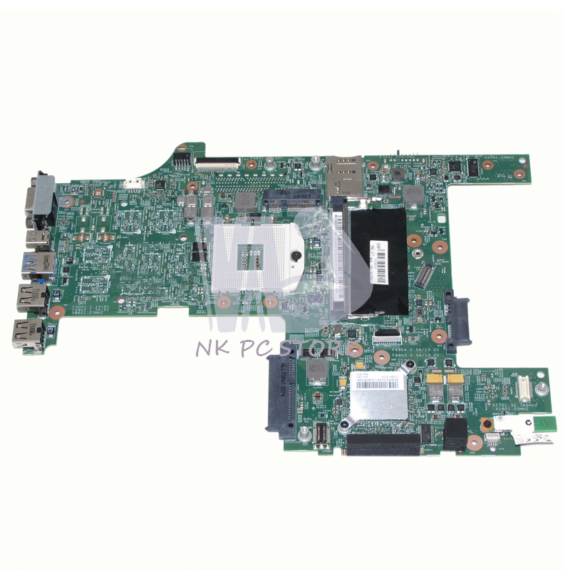 NOKOTION FRU 04Y2003 Notebook PC Motherboard For Lenovo L430 Main board System board HM76 DDR3 Socket PGA989 nokotion notebook pc motherboard for lenovo ideapad g500 main board system board viwgpgr la 9632p hm76 ddr3