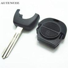 Autewode Замена дистанционного Оболочки 2b для Nissan Almera Primera Micra X-Trail Navara случае ключ A33 1 шт.