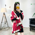 Multifunctional carpet scarf 2016 new teddy bear warm cashmere scarf extra long extra thick air conditioner shawl