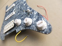 Wholesale loaded pickguard dimarzio pickups in light blue(white available) 101218