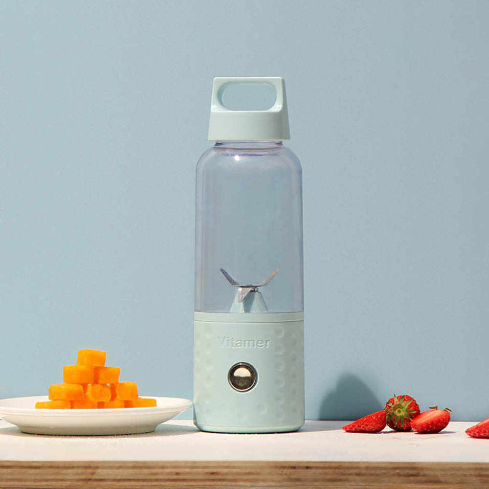 الفاكهة عصارة زجاجة الخلاط كوب المحمولة usb قابلة للفصل عصير الفواكه آلة خلط للمنازل مكتب السفر