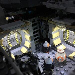 Image 5 - Đèn Led Bộ Cho Năm 75192 Và Năm 05132 Falcon Thiên Niên Kỷ Xây Dựng Mô Hình (Không Bao Gồm Các Khối Bộ)