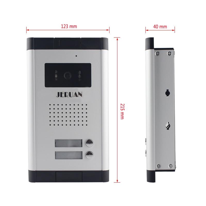 Home Security Direkt Drücken Sie Die Taste Audio Tür Telefon Für 12 Wohnungen Sicherheit & Schutz 2-wired Audio Intercom System Auf Lager Türsprechstelle