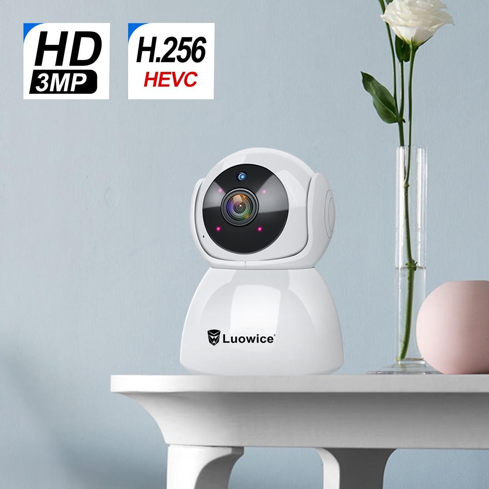 3.0 Megapixels Draadloze WiFi Camera Surveillance IP Huisdier cctv security camera night vision Camera Babyfoon Indoor camera-in Beveiligingscamera´s van Veiligheid en bescherming op AliExpress - 11.11_Dubbel 11Vrijgezellendag 1