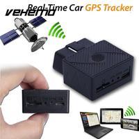 VEHEMO Xe Truck GPS GPRS Tracker Mini OBD II Giao Diện Thời Gian Thực Theo Dõi Thiết Bị 3.7 V Phổ Gps Định Vị Với phần mềm